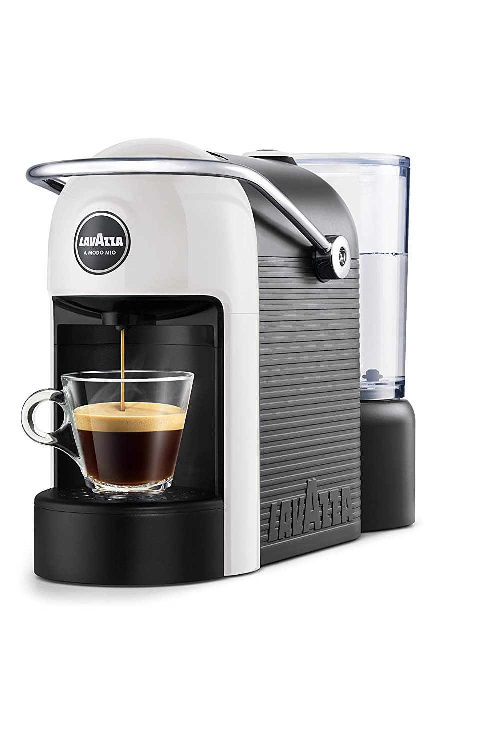 lavazza a modo mio jolie kapsel kaffeemaschine 1250 w 10 bar jolie wei ebay. Black Bedroom Furniture Sets. Home Design Ideas