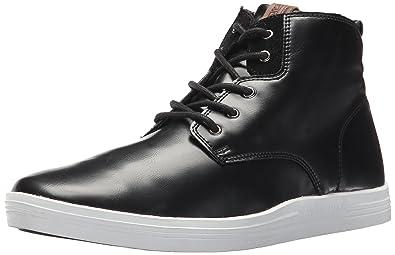 Mens Vance Boot Sneaker, Black, 7 M US Ben Sherman