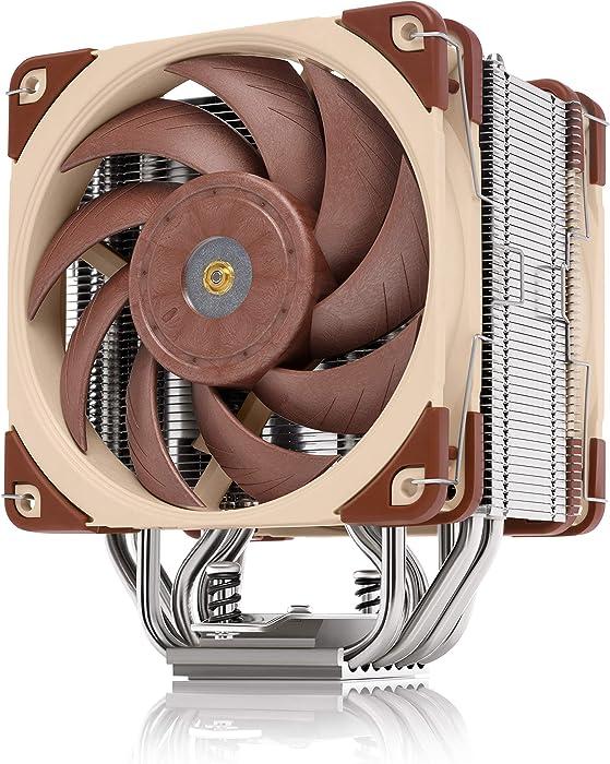 Noctua NH-U12A, Premium CPU Cooler with High-Performance Quiet NF-A12x25 PWM Fans (120mm, Brown)