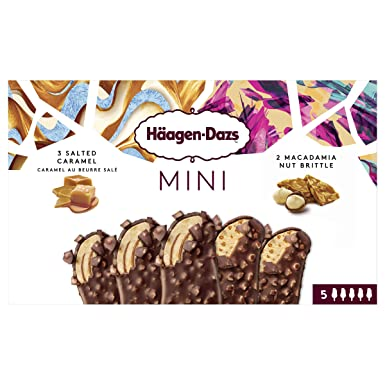 Häagen-Dazs Salted Caramel y Macadamia Nut Brittle ...
