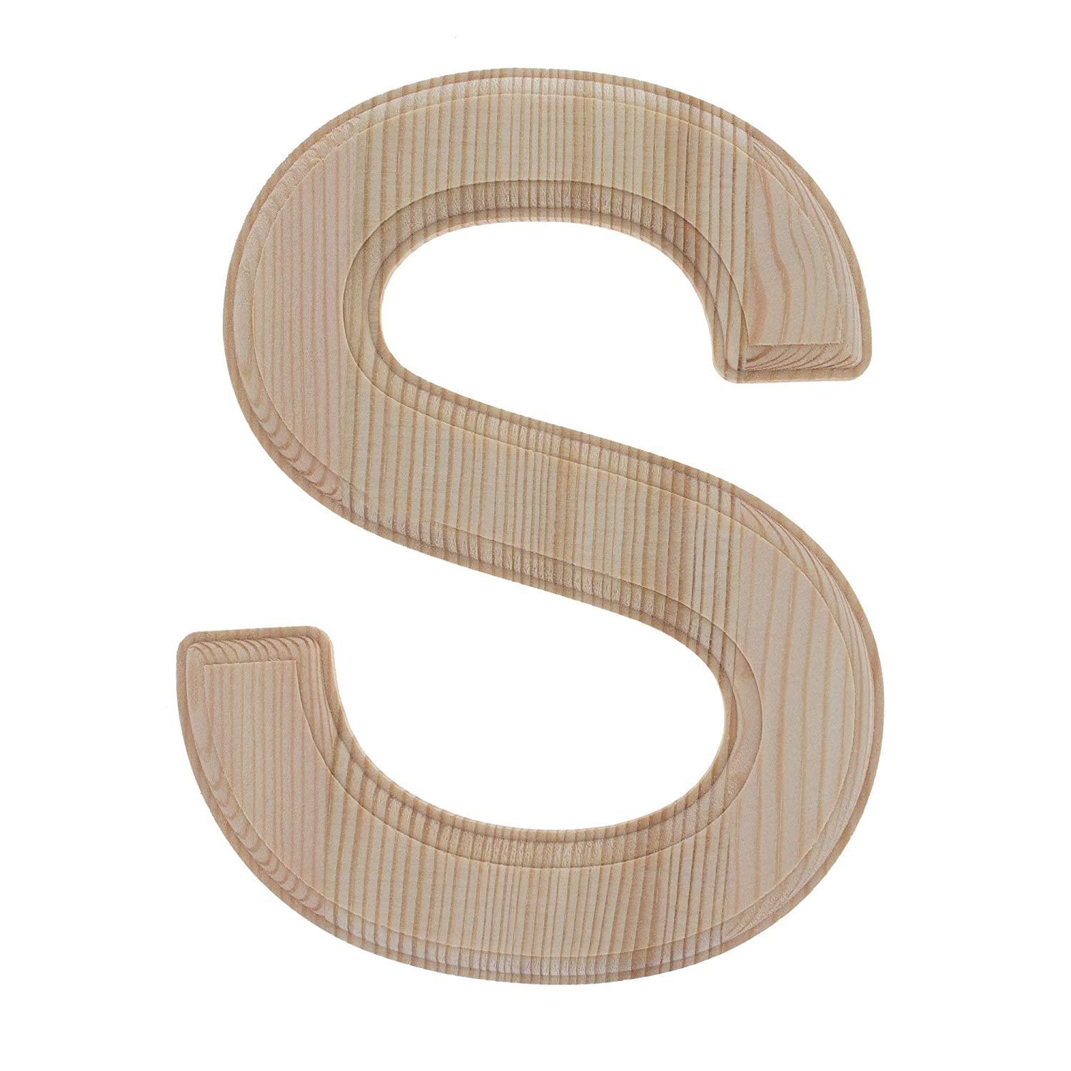 6.25 Inches BestPysanky Unfinished Wooden Letter L