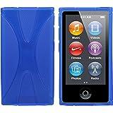 Mumbi X - Carcasa de silicona y TPU para iPod Nano 7G, color azul