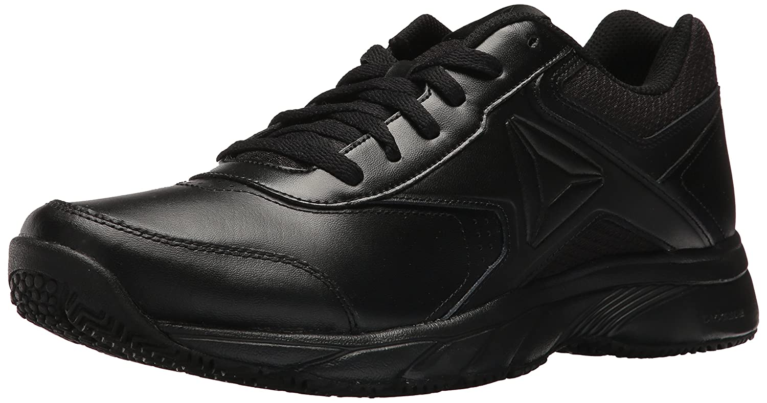 Reebok Men's Work N Cushion 3.0 Walking Shoe 6.5 D(M) US|Black