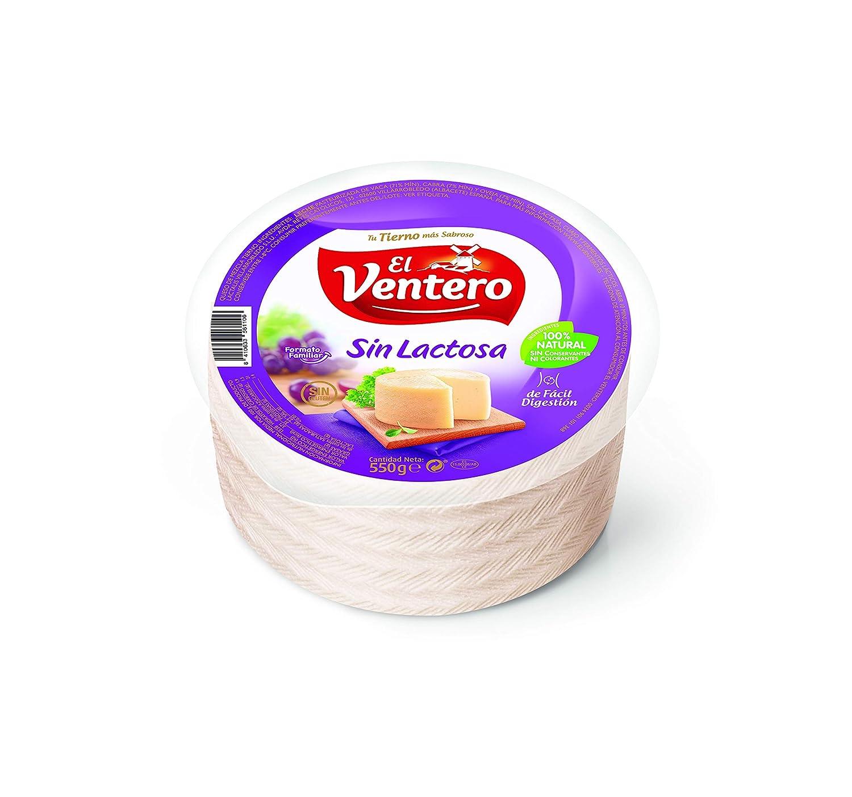 El Ventero, Queso duro artesanales (Sin lactosa) - 550 gr.: Amazon.es: Alimentación y bebidas