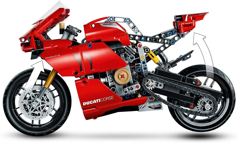 Ducati Panigale V4 R Technic Jeux de Construction LEGO Multicolore 42107