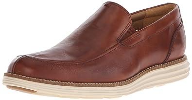 Cole Haan Men's Original Grand Venetian Slip-On Loafer, Woodbury/Ivory, 7