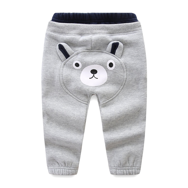 Mud Kingdom Toddler Girls Little Bear Fleece Winter Jogger Pants Warm ZK0104