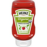 Heinz Organic Tomato Ketchup, 14 ounce Easy Squeeze Bottle
