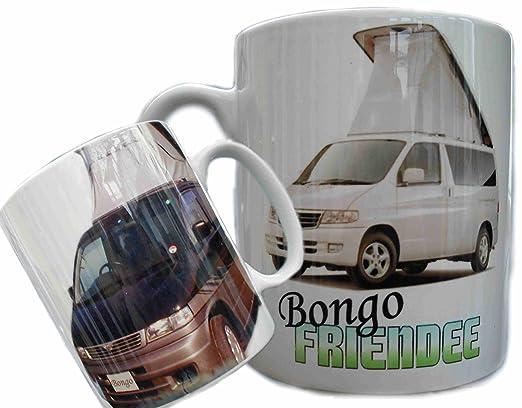 Taza Bongo Friendee con Mazda, Ford Freda, caravana, MPV ...