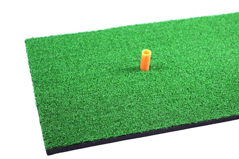POSMA HM040AA Golf Backyard Golf Mat 12''x24''(30 x 60 CM), 30pcs Multi Color PU Practice Balls, 2pcs Tour Ball, and Cinch Sack Carry Bag by POSMA (Image #3)