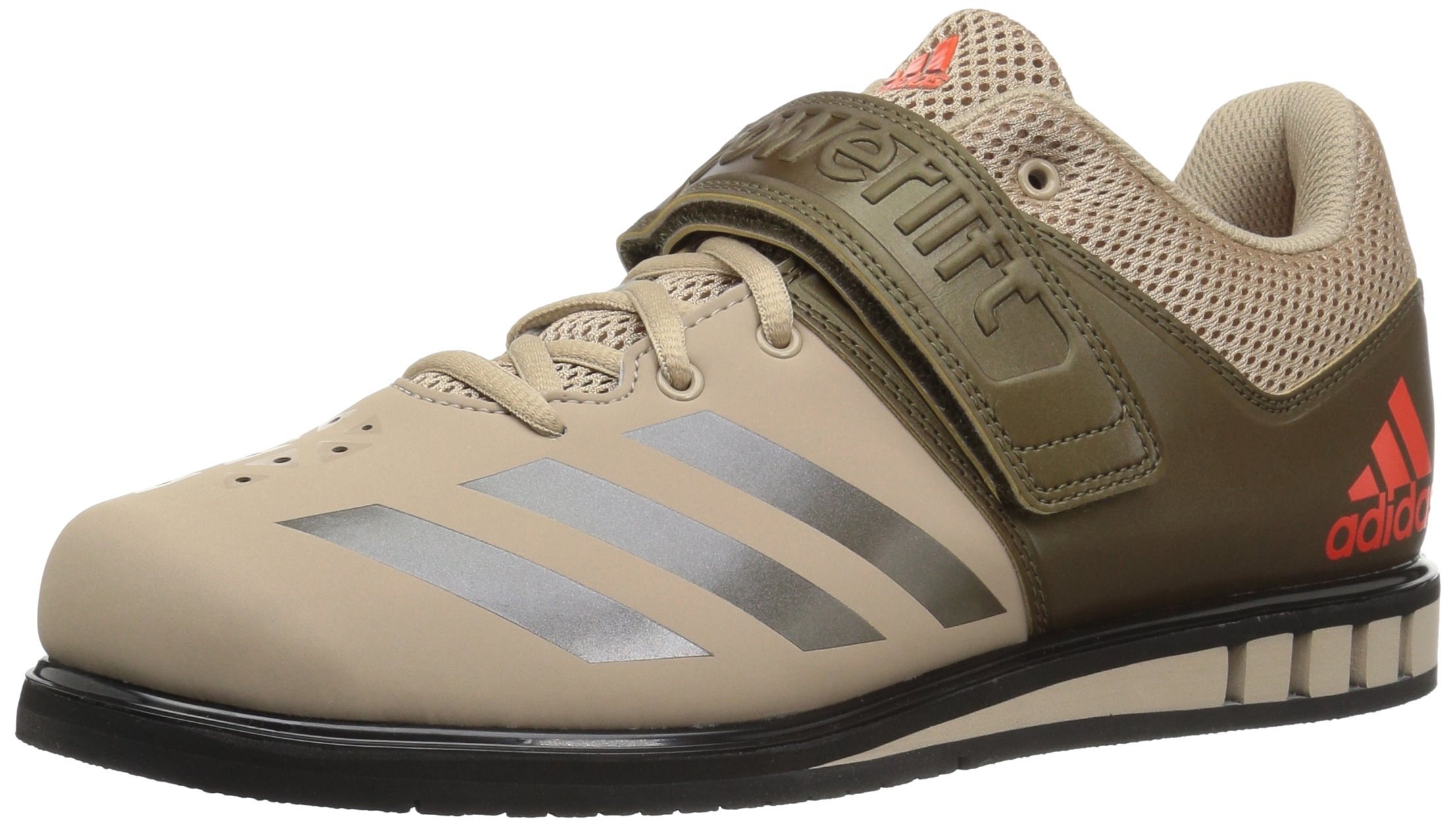 adidas Performance Men's Powerlift.3.1 Cross Trainer, Tech Beige/Trace Olive/Black, 10.5 Medium US by adidas