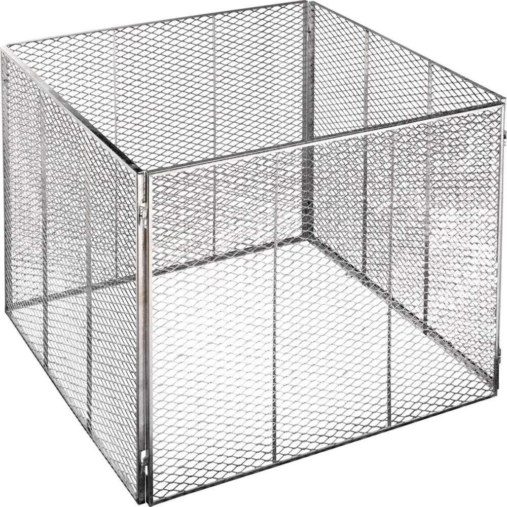 Metallkomposters Brista Komposter80X80X70