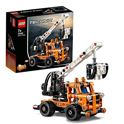 LEGO Cherry Picker Toy Truck, 2 in 1 Model, Tow Truck, Construction Vehicle Toys for Kids: Toys & Games