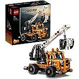 LEGO Technic - Plataforma Elevadora, maqueta de juguete de grua para construir, con mecanismo de elevación (42088)