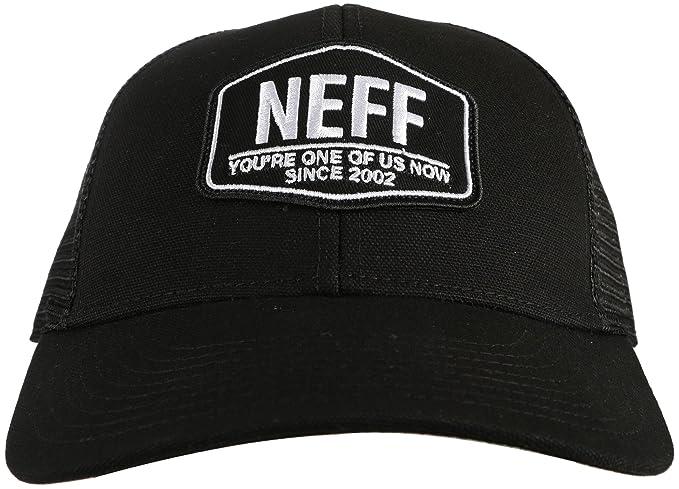 NEFF Unisex-Adult s Field Trucker Adjustable Snapback Hat for Men ... 3d1309daf737
