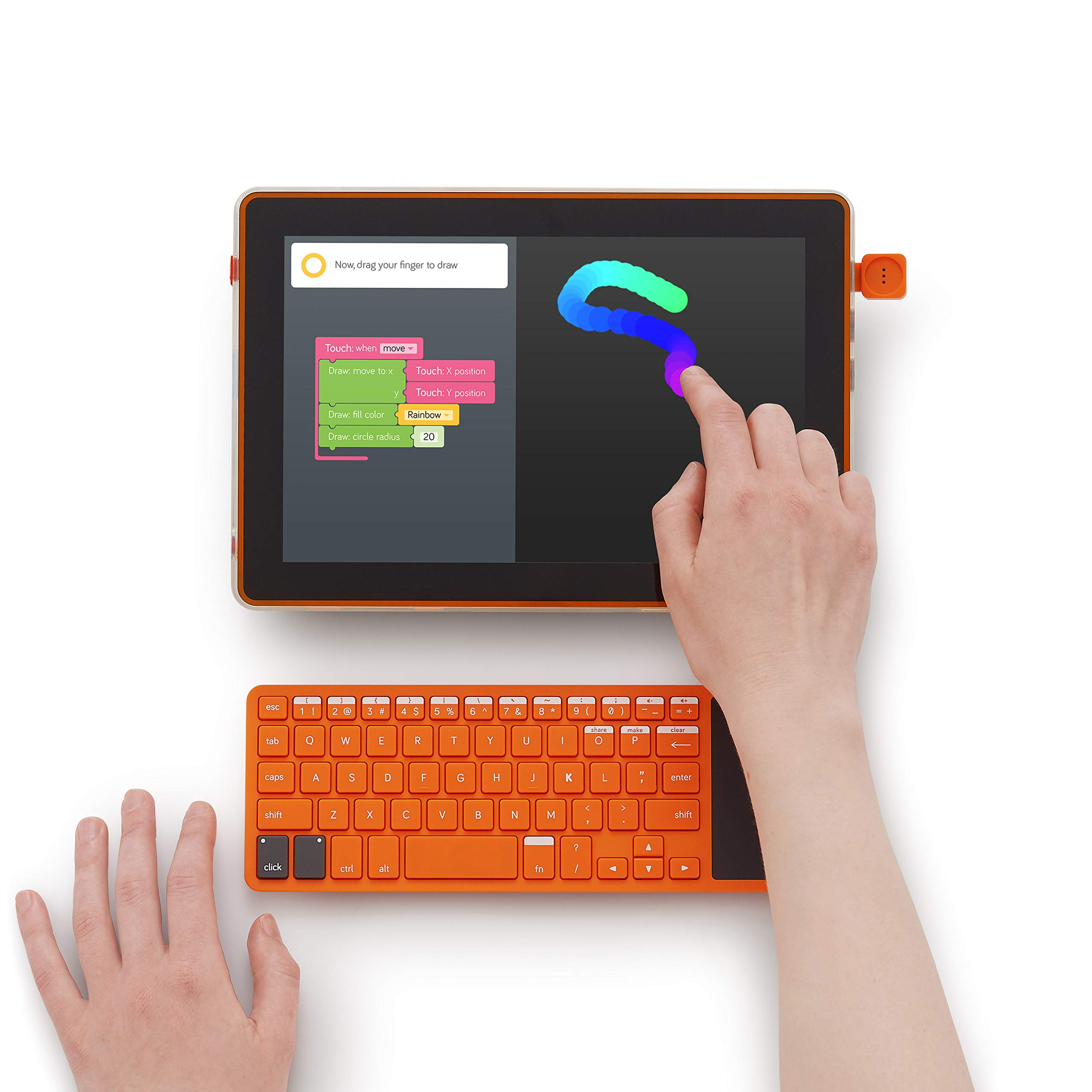 Kano Computer Kit Touch - Build and code a tablet by Kano