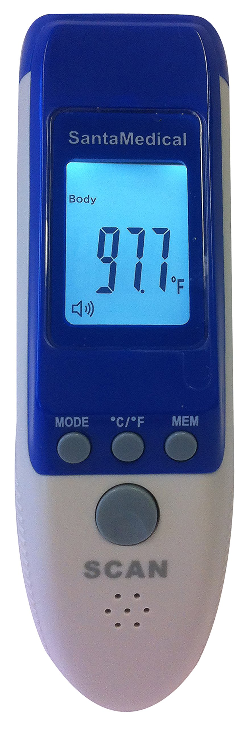 2 in 1 Professional Clinical RY230 Large LCD Non-contact Infrared Thermometer - Forehead and Surface