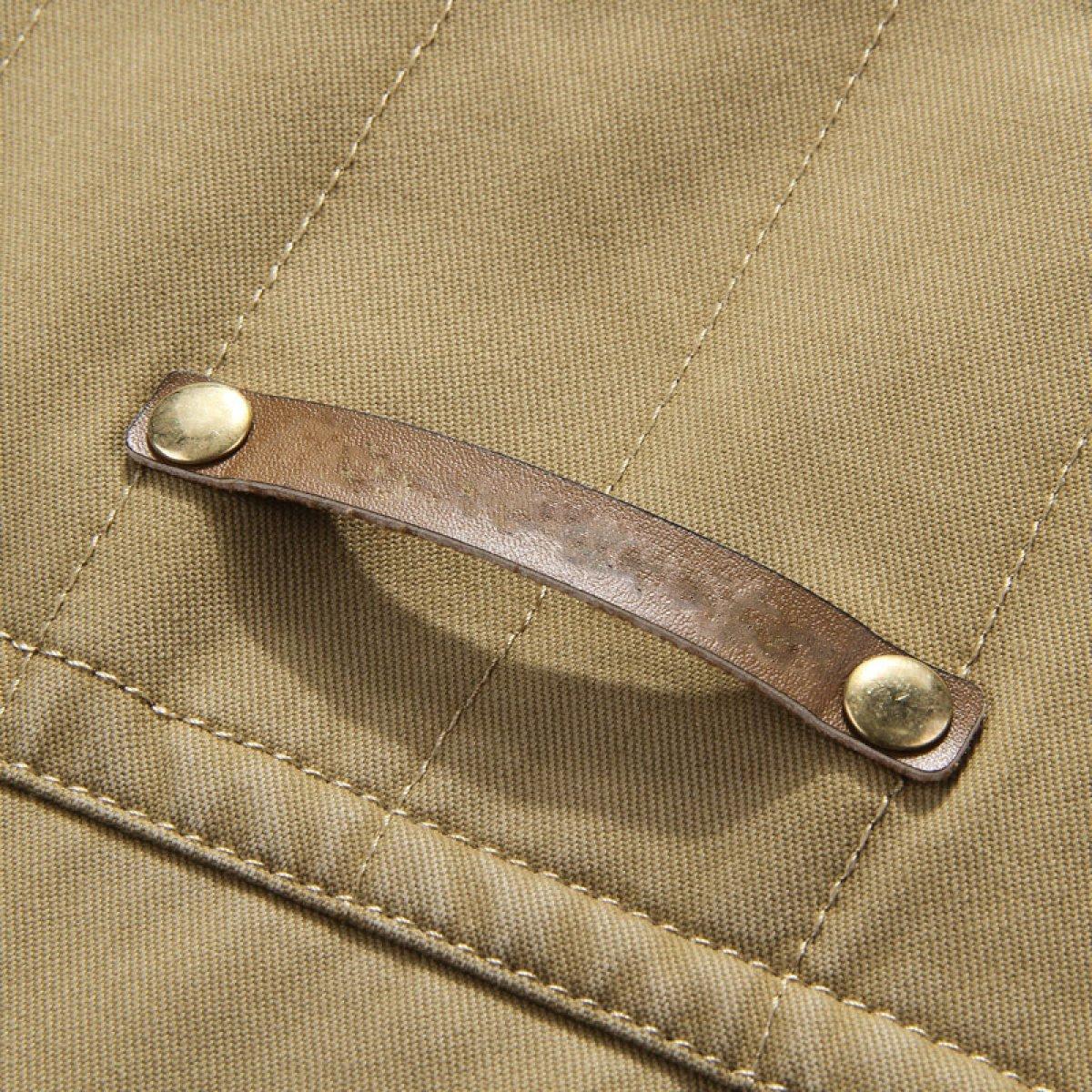 QIQIZHANG Frühling Männer Männer Männer Gewaschener Baumwolle Lässig Im Freien Anglerweste B073ZKFBLN Westen Globale Verkäufe 4f2da1