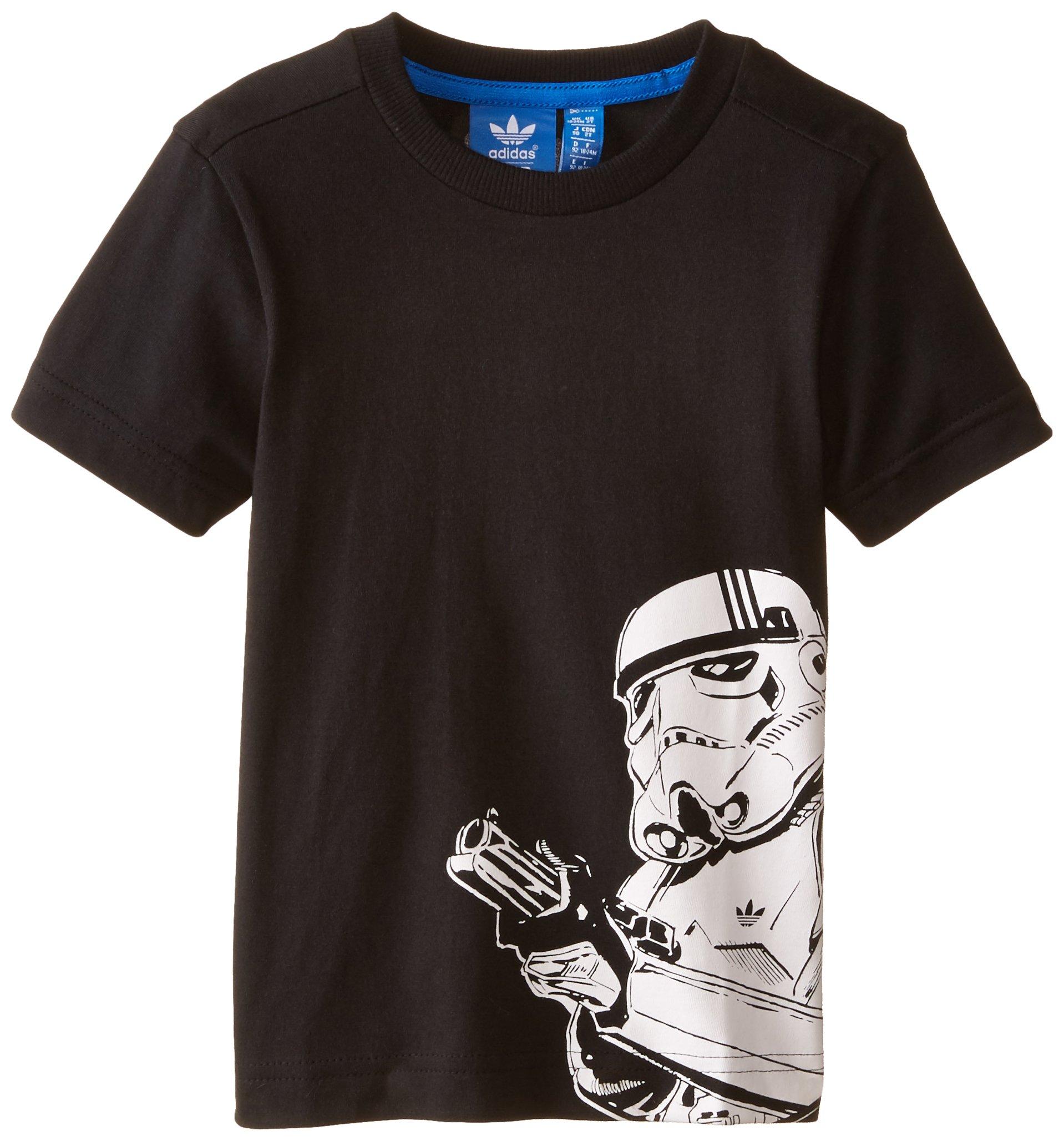 adidas Originals Boys Star Wars Storm Trooper T-Shirt