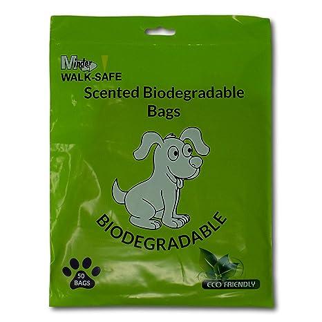 Minder Walk-Safe Bolsas para Caca de Perro biodegradables ...