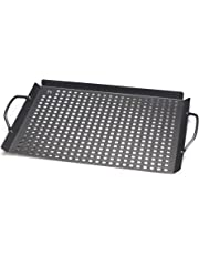 Outset QD81 Non-Stick Grill Grid with Handles