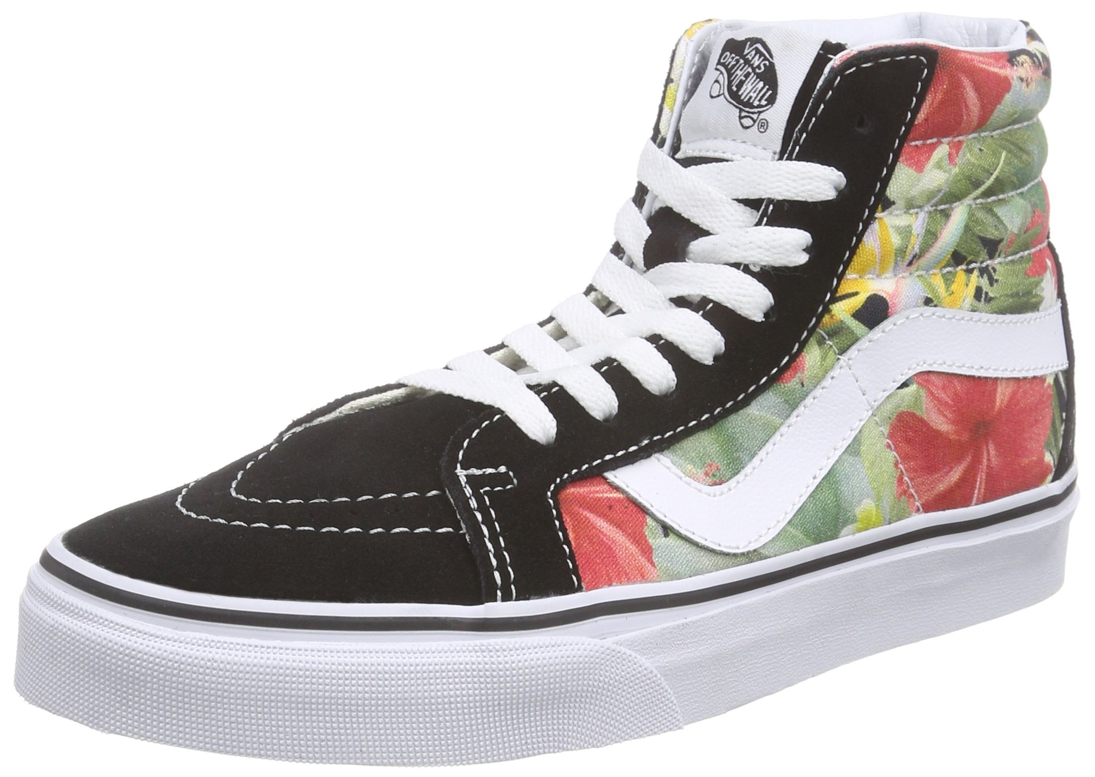 bdb95fe824 Galleon - Vans Mens Digi Aloha SK8-Hi Reissue Black True White Sneaker -  10.5