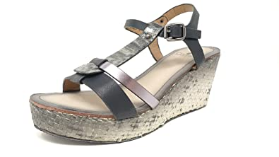b78f7b518 Image Unavailable. Image not available for. Color: Corkys Boutique  Collection Womens Basket Wedge Sandals Black 11m