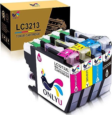 ONLYU LC3213 LC-3213 cartucho de tinta compatible con Brother ...