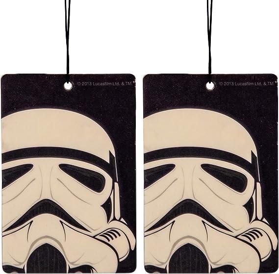 Star Wars Stormtrooper Car Air Freshener 2 Pack Vanilla Scent Küche Haushalt