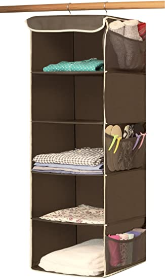 ip hanging shelves essentials closet plastic household natural canvas aebe walmart com with organizer shelf
