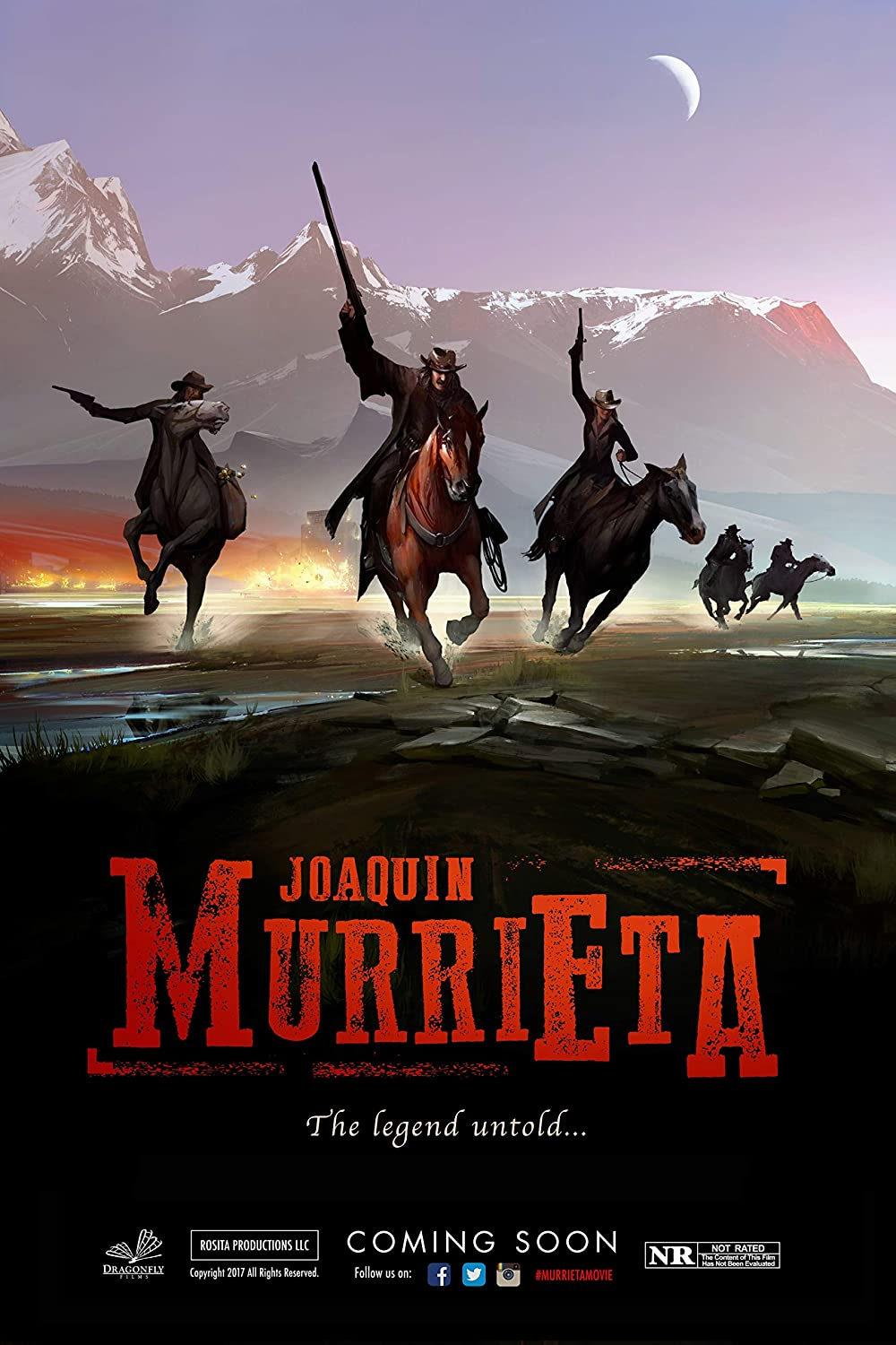 24x36 Joaquin Murrieta Movie Poster