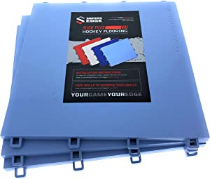 """Sniper's Edge Hockey Dryland Slick Tiles (20 Tiles / 20 sq ft.) – Premium Grade Technology with UV Coated Protection, Built to Last & Sized Right at 12"""" X 12"""" Per Tile"""