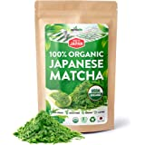 AprikaLife Organic Japanese Matcha Green Tea Powder – USDA & JAS Organic - Authentic Japanese Origin - Premium Culinary Grade