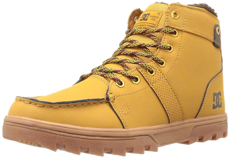 DC Men's Woodland Winter Boot B01D29MZ5I 8 D(M) US|Wheat/Turkish Coffee