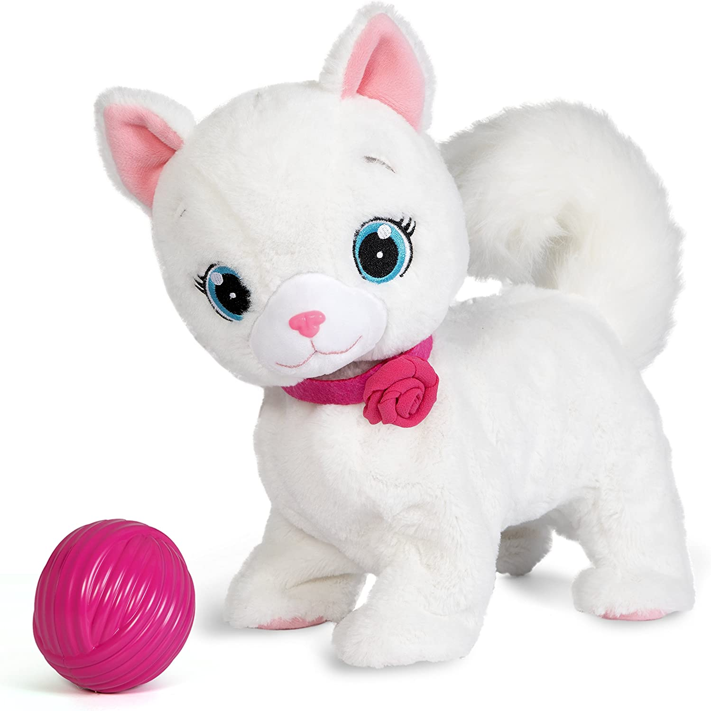 IMC Toys - 95847 - Club Petz Bianca gattina interattiva (Lingua Italiana)