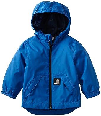 909ac28d5d347 Amazon.com  Carhartt Baby Boys  Packable Hooded Rain Jacket