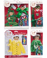 Elf on the Shelf 2017 Value Outfit Pack: Hoodie, 2 Christmas Costumes, Super