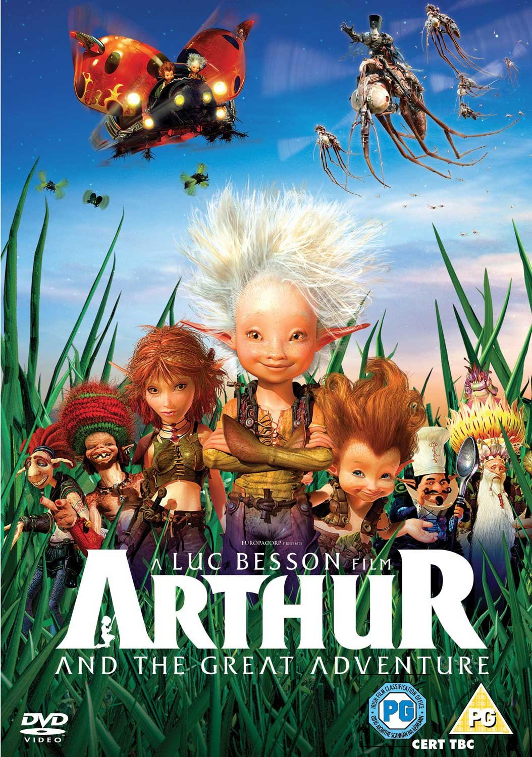 Amazon Com Arthur And The Great Adventure Dvd Movies Tv