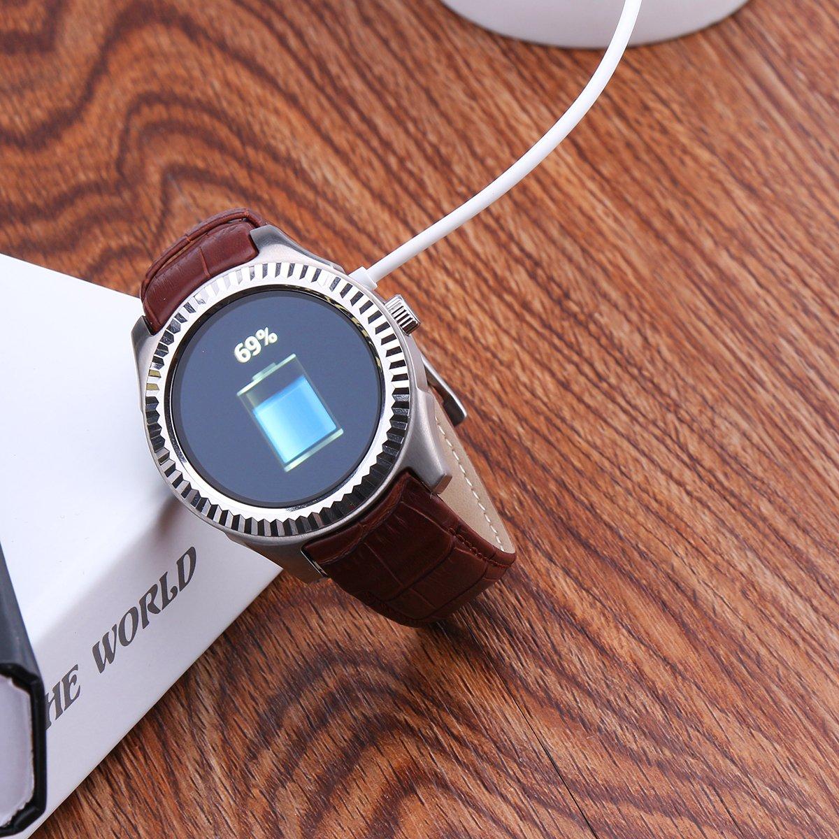 HITECHLIFE Cable de Carga Universal para Reloj Inteligente USB de ...