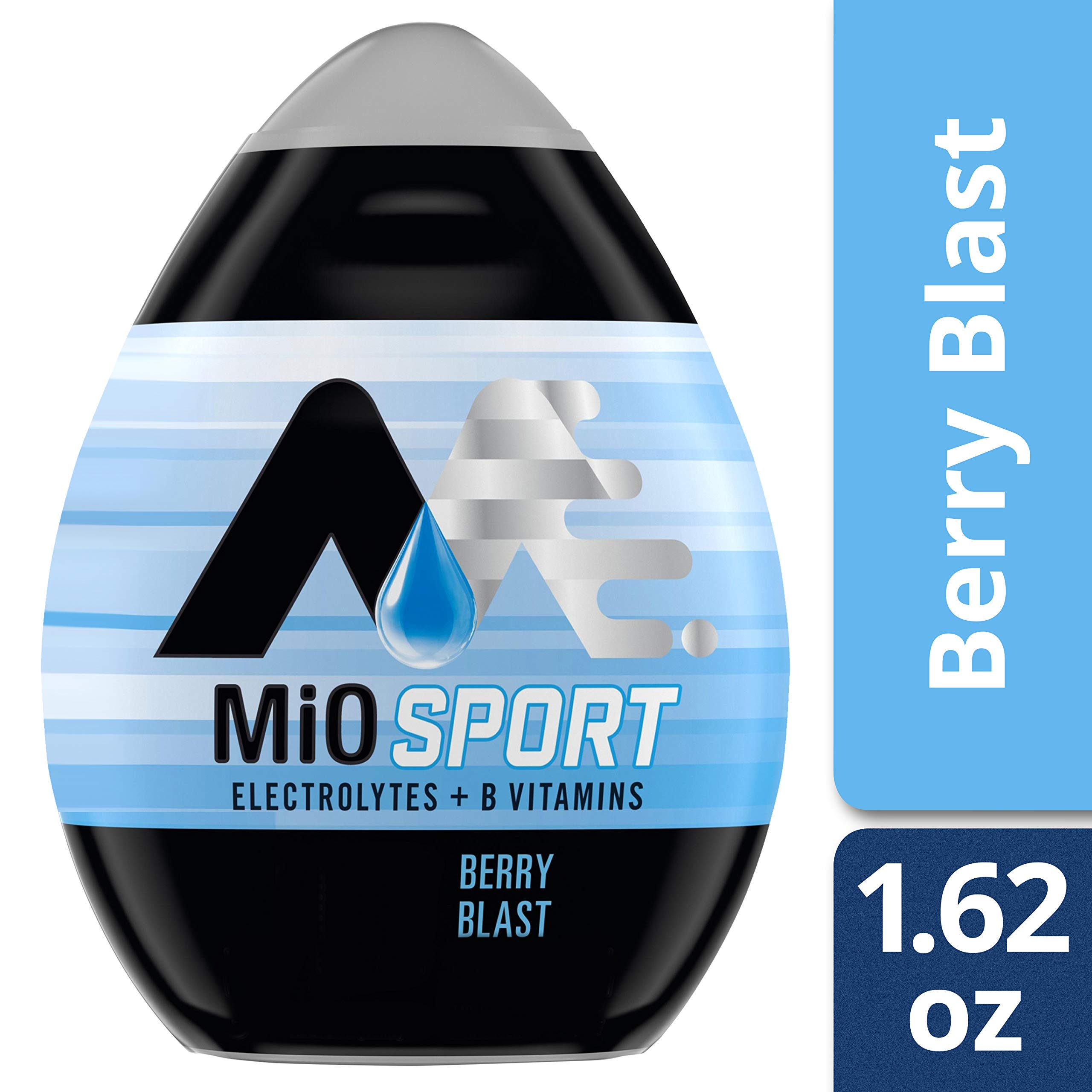 MiO Sport Berry Blast Liquid Water Enhancer , Caffeine Free, 1.62 fl oz Bottle by Mio