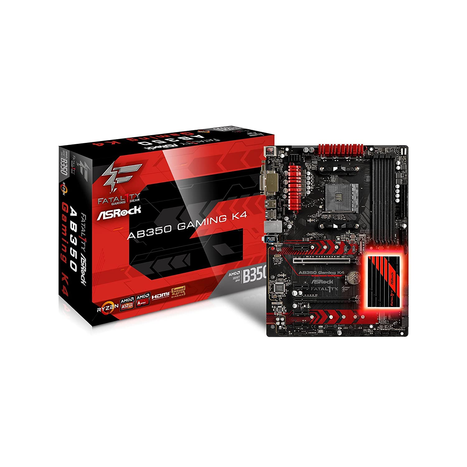ASRock Fatal1ty AB350 Gaming K4 Review