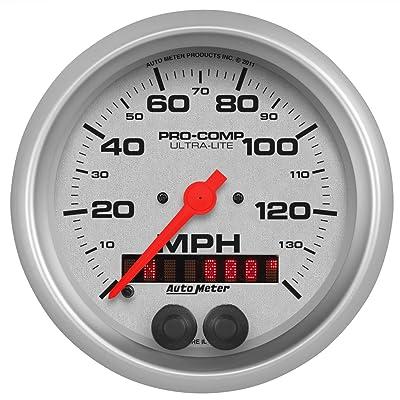 Auto Meter 4480 Ultra-Lite GPS Speedometer: Automotive