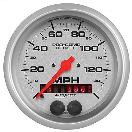 Auto Meter 4480 Ultra-Lite GPS Speedometer