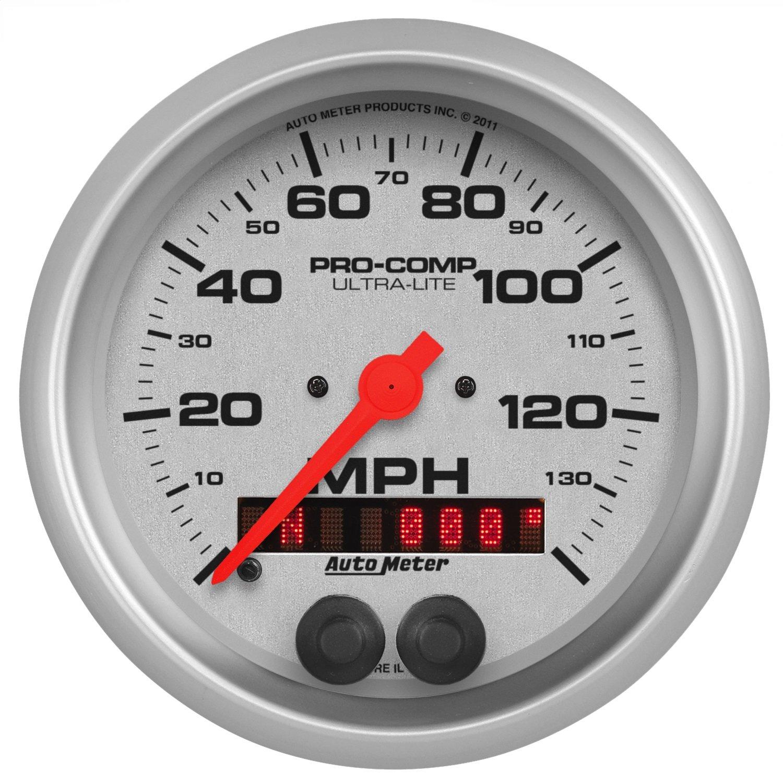 Best Rated In Automotive Replacement Speedometers Helpful Customer Crown Jeep Cj 7 Wiring Diagram Speedo Auto Meter 4480 Ultra Lite Gps Speedometer Product Image