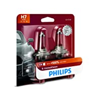 Philips 12972XVB2 H7 X-tremeVision Upgrade Headlight Bulb, 2 Pack