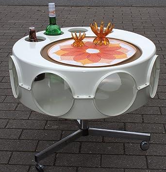 Curver Ufo Tisch Beistelltisch Tabletisch Space Age Panton ära Pop