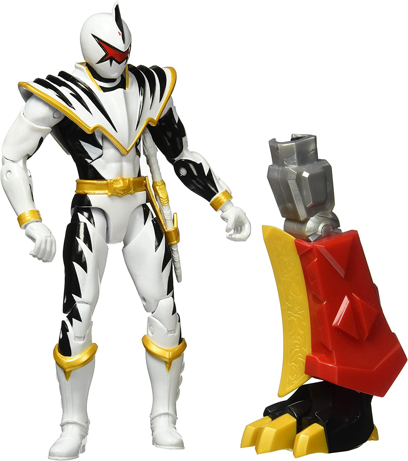 "Bandai Power Rangers Legacy Collection Dino Thunder Black Ranger 6.5/"" New"