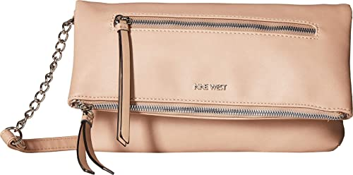 2d493e614836 Nine West Women s Cataleya Crossbody Barely Nude One Size  Handbags  Amazon .com