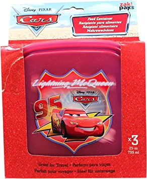 Disney Cars Tupperware Set (3 Pack) - Cars Aventura sobre las ...
