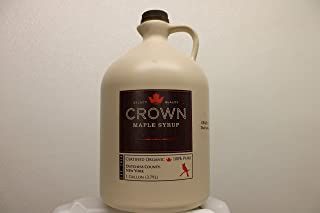 product image for Crown Maple Organic Very Dark Color - Strong Taste Syrup One Gallon Plastic (Formerly Grade B)